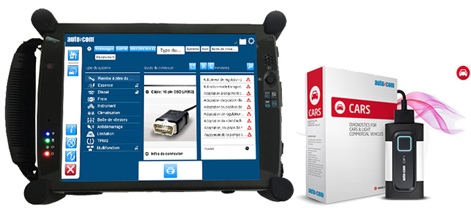 Valise diagnostic Autocom CDP+ cars